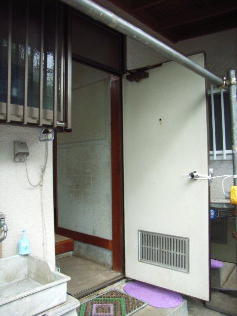 通風ドア施工前1