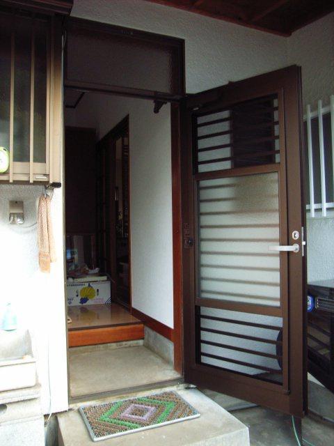 通風ドア施工後2