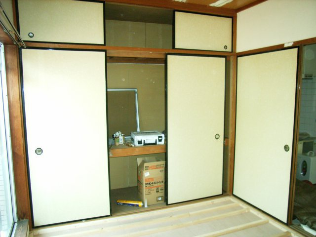 内装リフォーム施工中9