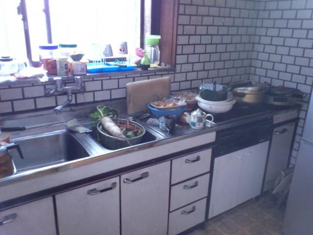 システムキッチン施工前1