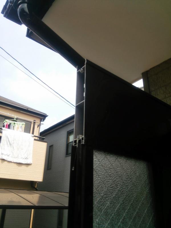 玄関ドア修理前3