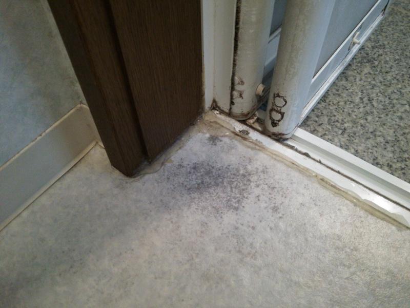 浴室側脱衣室床の腐食1