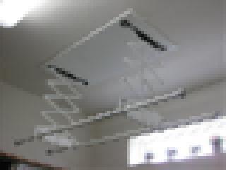 天井付け電動室内物干し