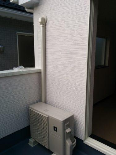 2階南西側洋室エアコン設置後2
