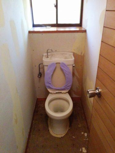 1階トイレ交換前1
