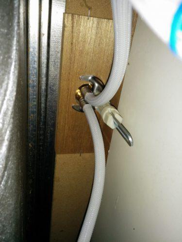 シングルレバー混合水栓交換後3
