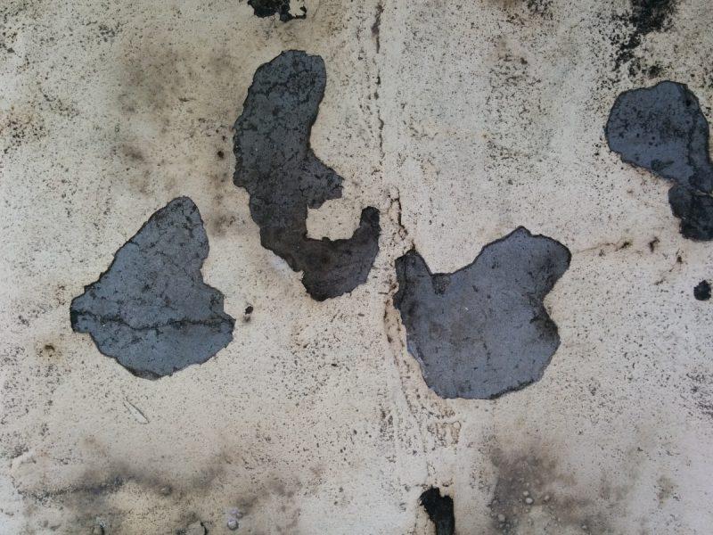 バルコニーウレタン防水施工前4