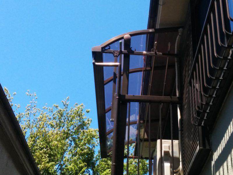 テラス屋根交換後