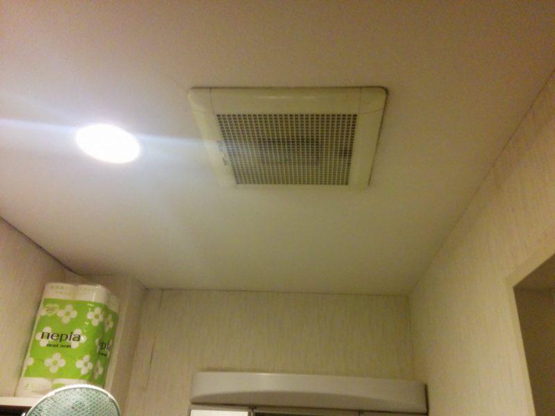 2室用ダクト換気扇交換前