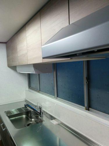 ラクエラスライド収納プラン設置後-ショート吊戸棚