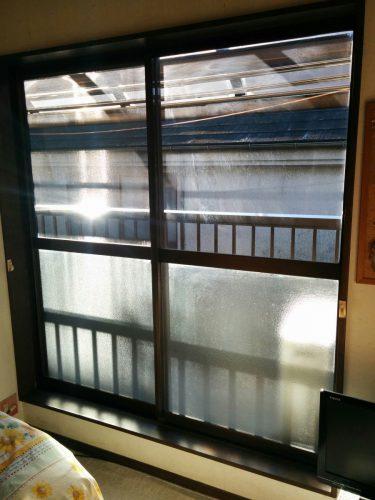 2階寝室インプラス設置前