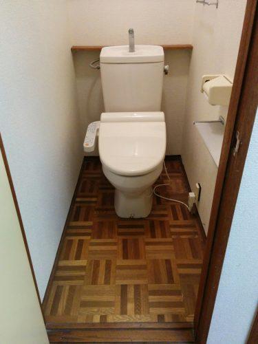 トイレ改修前1