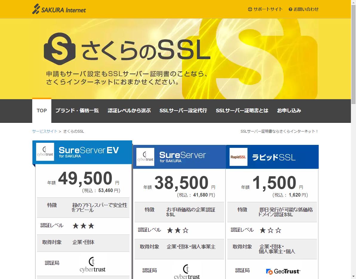 さくらのSSL