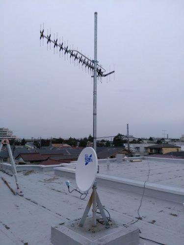 UHF&BS・CSアンテナ設置後