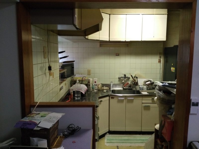 キッチン入替前