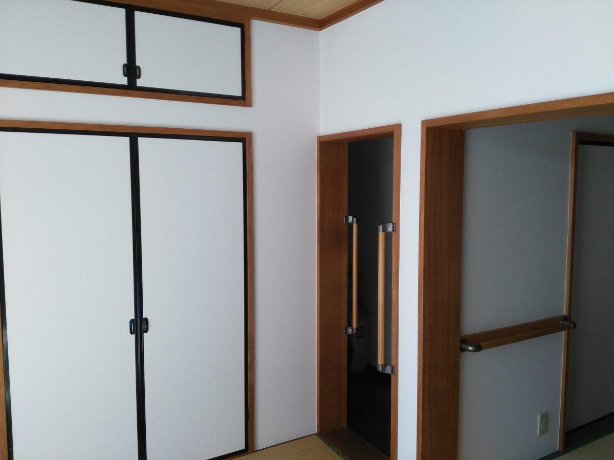 和室壁クロス 襖張替えの施工例 相模原市南区のリフォーム専門店