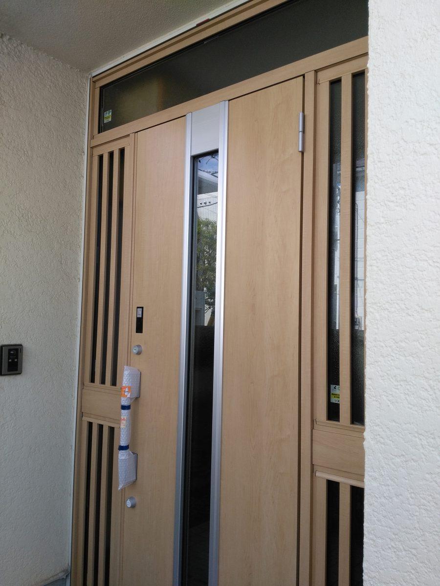 【リフォーム施工例集】玄関サッシ・玄関ドアの施工例一覧