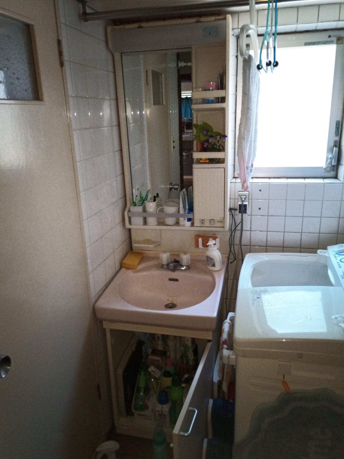 洗面台全体