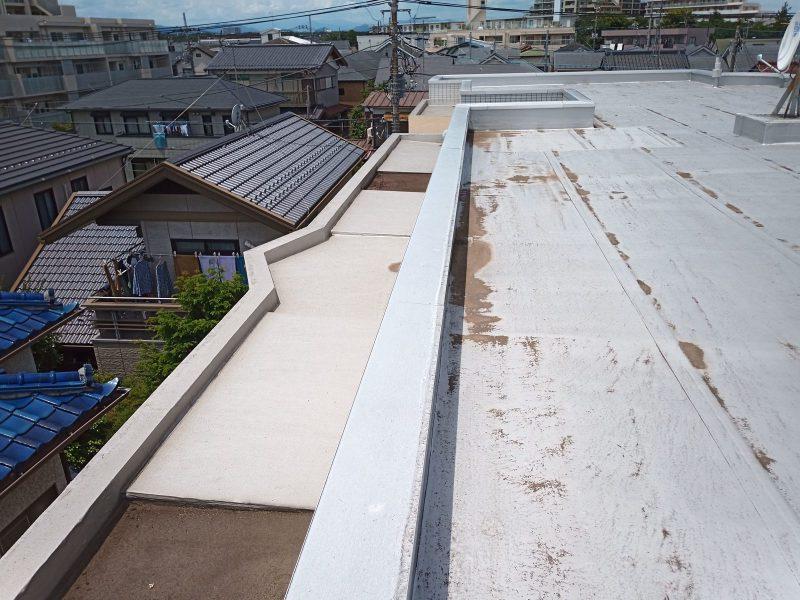 屋上シート防水の状態