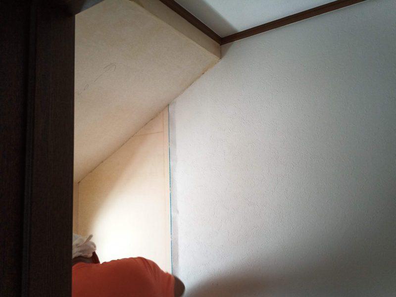 2階トイレ改修中