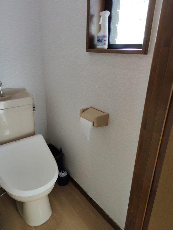 2階トイレ手すり設置前