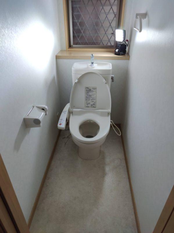 上鶴間本町グループホーム1階トイレ手すり設置前
