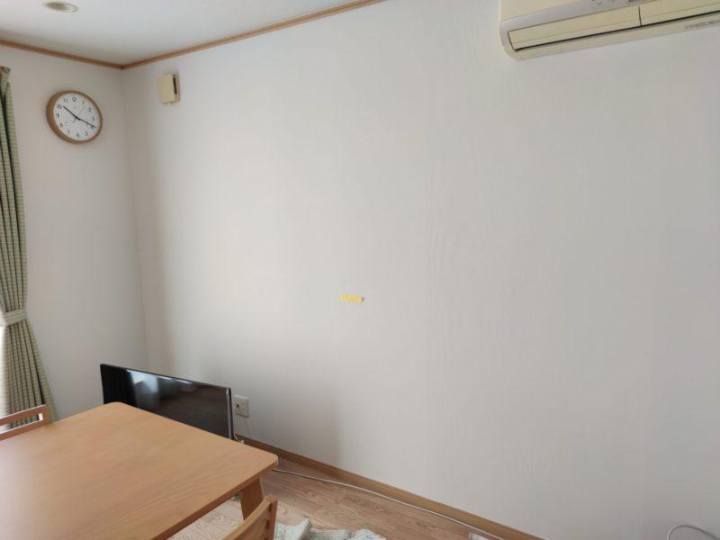 液晶テレビ壁掛前